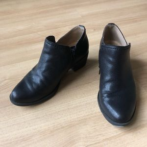 Naturalizer Shoes - Black leather booties